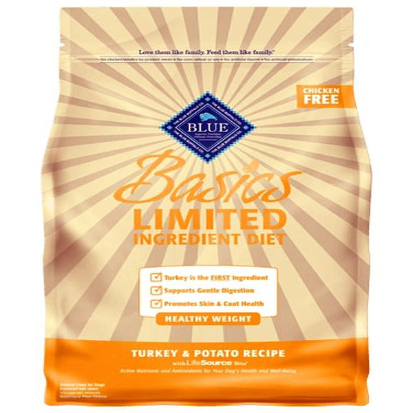 Blue Buffalo Dog Basic  Grain-Free  Healthy  Weight  4 Lbs..