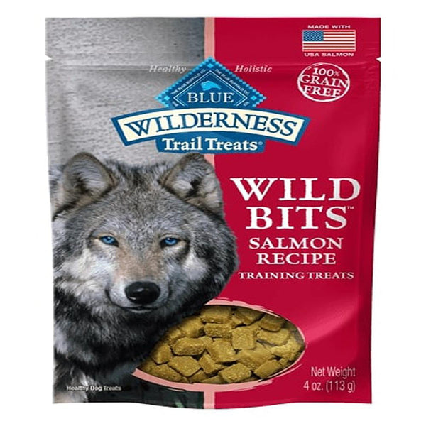 Blue Buffalo Dog Wilderness  GF Bits Salmon 4 Oz..