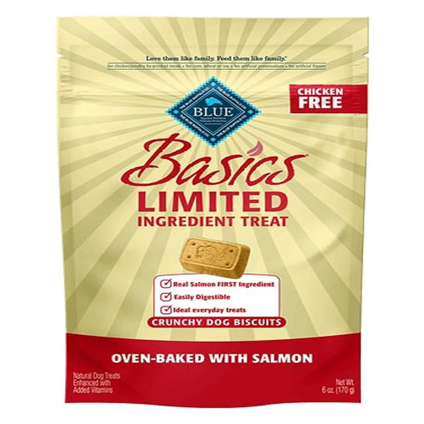 Blue Buffalo Dog  Basic Biscuit Salmon Potato 6 Oz.