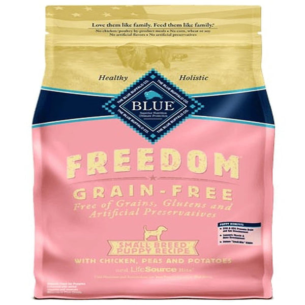 Blue Buffalo Dog  Freedom  GF Small Brown Rice Chicken 4 Lbs.