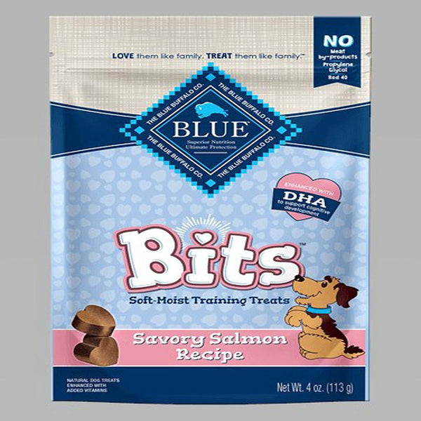 Blue Buffalo Dog Bits Salmon 4 Oz..