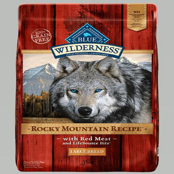 Blue Dog Wilderness Rocky  Mountain Red Large Breed  22 Lbs..