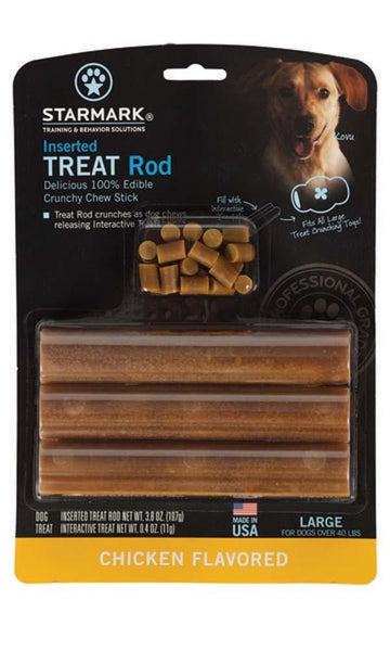 Starmark Inserted Treat Rod Chicken USA Large.