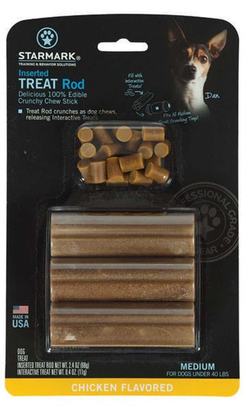 Starmark Inserted Treat Rod Chicken USA Medium.