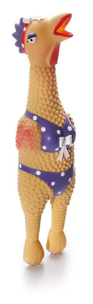 Charming Pet Squawkers Henrietta Large Dog Toy - Leaderpetsupply.com