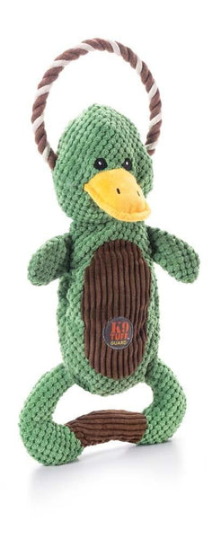 Charming Pet Scrunch Bunch Duck Dog Toy - Leaderpetsupply.com