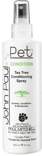 John Paul Pet 8 oz.. Tea Tree Conditioning Spray.