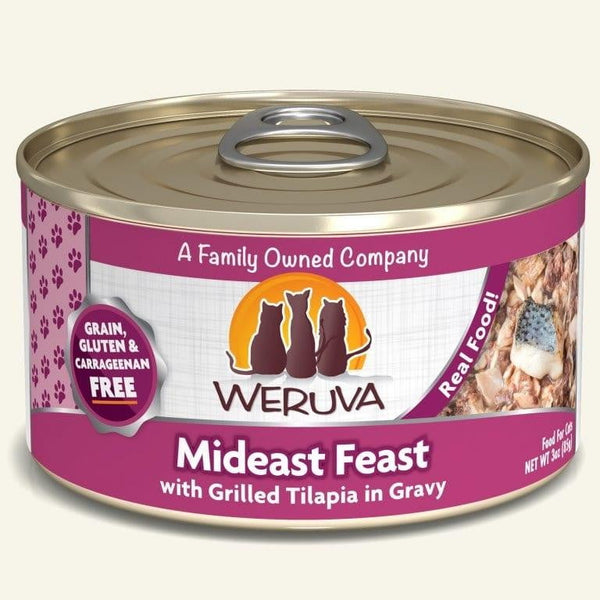 Weruva Cat Mideast Feast 3 Oz.  Case of 24.