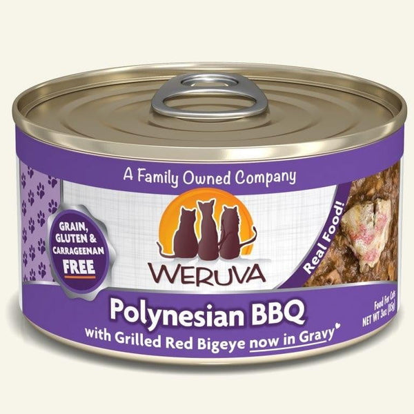Weruva Cat Polynesian Bbq 3 Oz.  Case of 24.