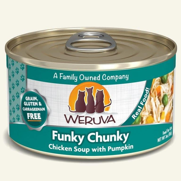 Weruva Cat Funky Chunky 3 Oz.  Case of 24.
