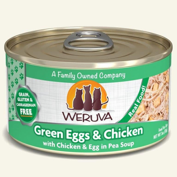 Weruva Cat Green Egg  Chicken 3 Oz.  Case of 24.