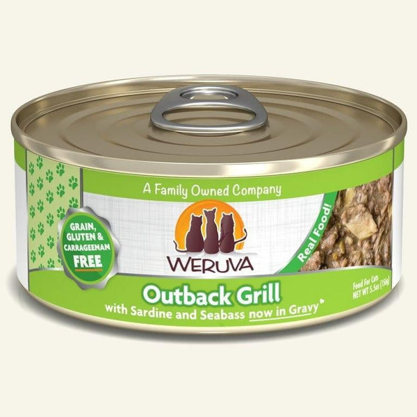 Weruva Cat Outback Grill  5.5 Oz.  Case of 24.