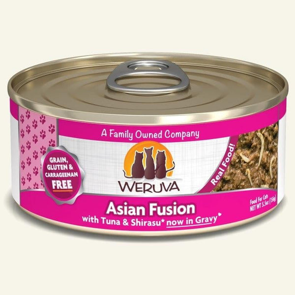 Weruva Cat Asian Fusion 5.5 Oz.  Case of 24.
