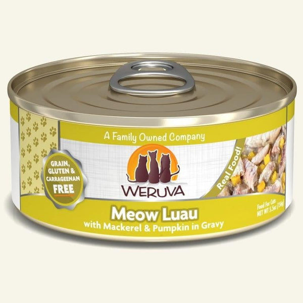 Weruva Cat Meow Luau 5.5 Oz.  Case of 24.