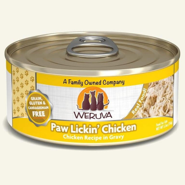 Weruva Cat Paw Lickn Chicken 5.5 Oz.  Case of 24.