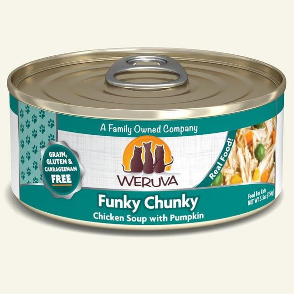 Weruva Cat Funky Chunky 5.5 Oz.  Case of 24.