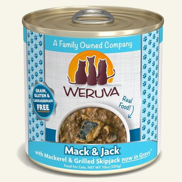 Weruva Cat Mack Jack 10 Oz.  Case of 12.