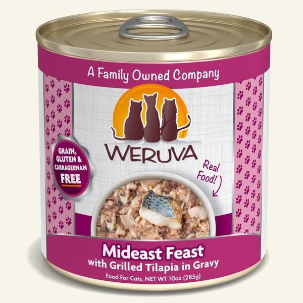 Weruva Cat Mideast Feast 10 Oz.  Case of 12.