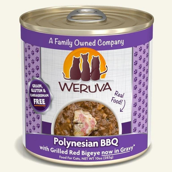 Weruva Cat Polynesian Bbq 10 Oz.  Case of 12.