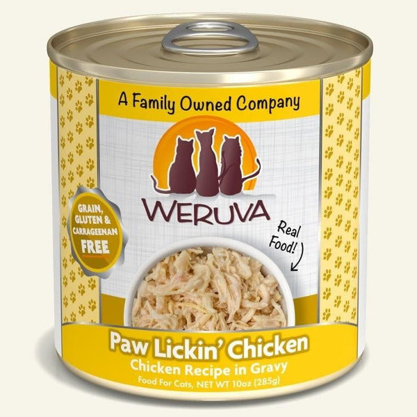 Weruva Cat Paw Lickin Chicken 10 Oz.  Case of 12.