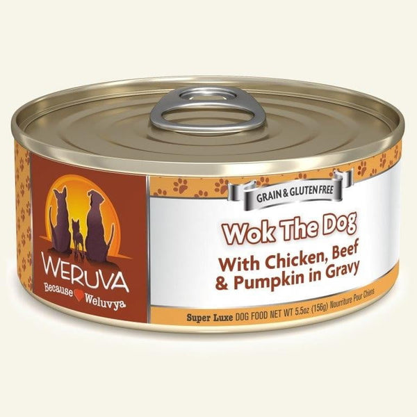 Weruva Dog Wok The Dog 5.5 Oz.  Case of 24.