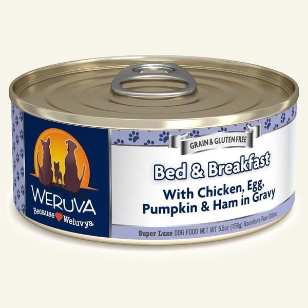 Weruva Dog Bed N Breakfast 5.5 Oz.  Case of 24.