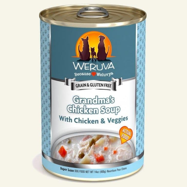 Weruva Dog Grandma Chicken Soup 14 Oz.  Case of 12.