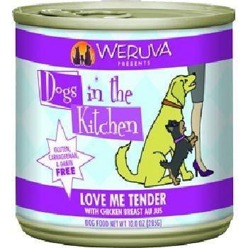 Dogs In the Kitchen Dog Love Me Tender 10 Oz. Case of  24 (Case of  24).