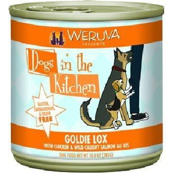 Dogs In the Kitchen Dog Goldie Lox 10 Oz. Case of  24 (Case of  24).