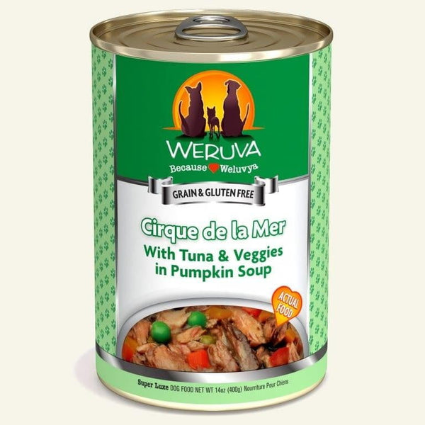 Weruva Dog Cirque De La Mer 14 Oz.  Case of 12.
