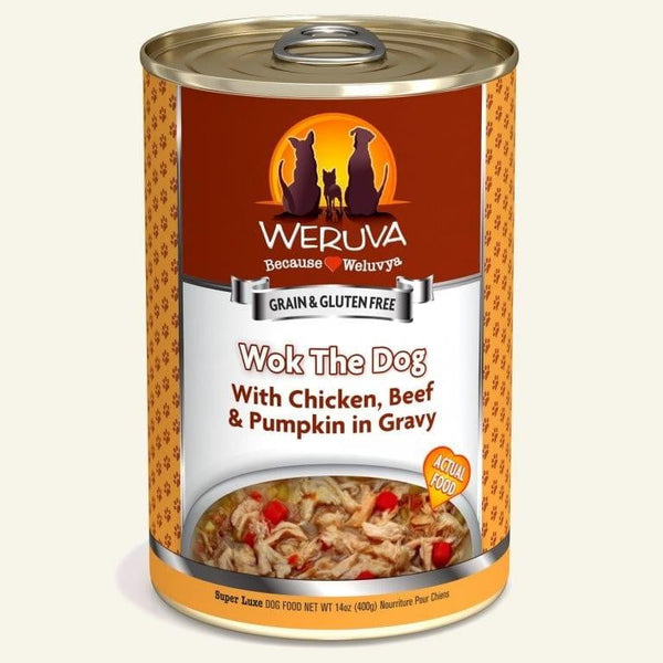 Weruva Dog Wok The Dog 14 Oz.  Case of 12.
