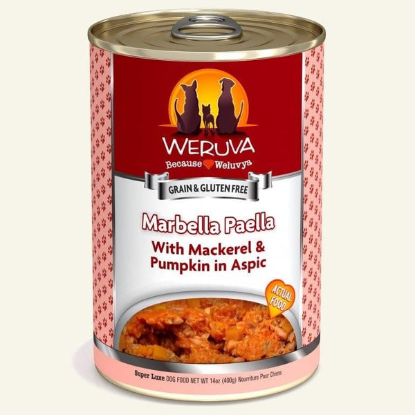 Weruva Dog Marbella Paella 14 Oz.  Case of 12.