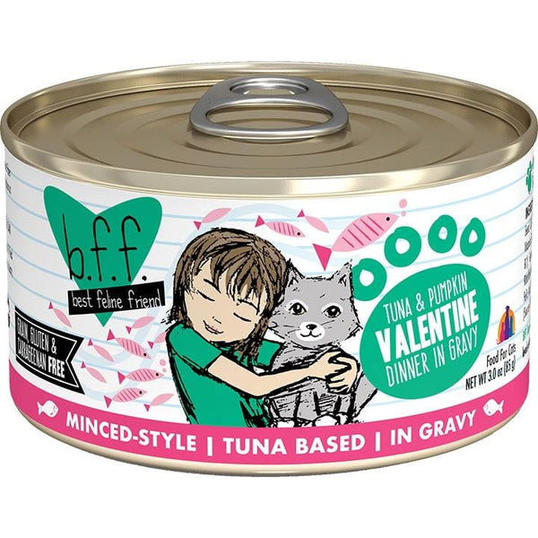BFF Cat Valentine Tuna Vegetables3 Oz. Case of  24 (Case of  24).
