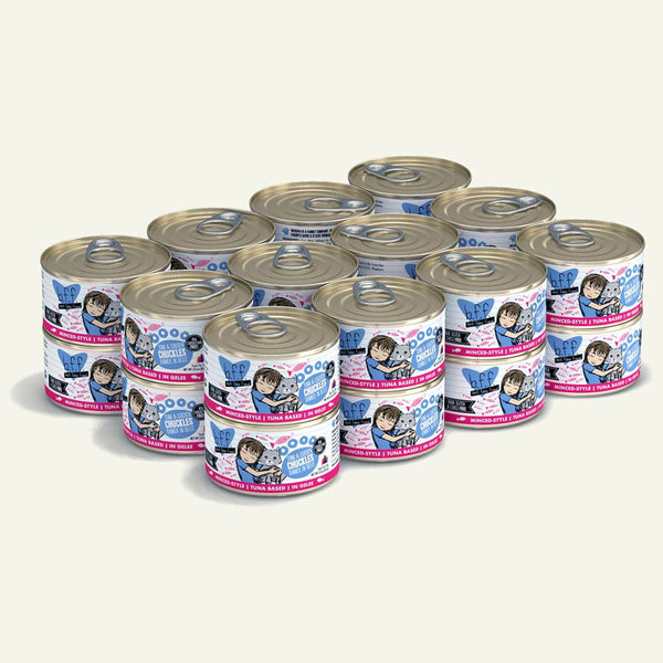 BFF Cat Chuckles Tuna Chicken 3 Oz. Case of  24 (Case of  24).
