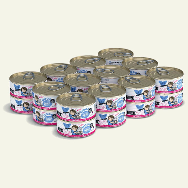 BFF Cat Chuckles Tuna Chicken 5.5 Oz. Case of  24 (Case of  24).