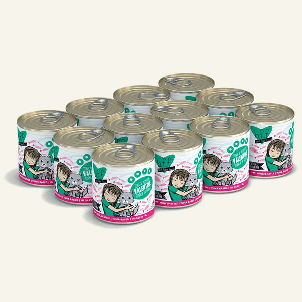 BFF Cat Valentine Tuna Vegetables10 Oz. Case of  24 (Case of  24).