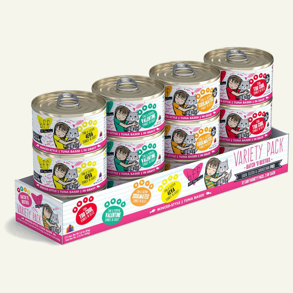 BFF Cat Variety Pack 3 Oz. Case of  24 (Case of  24).