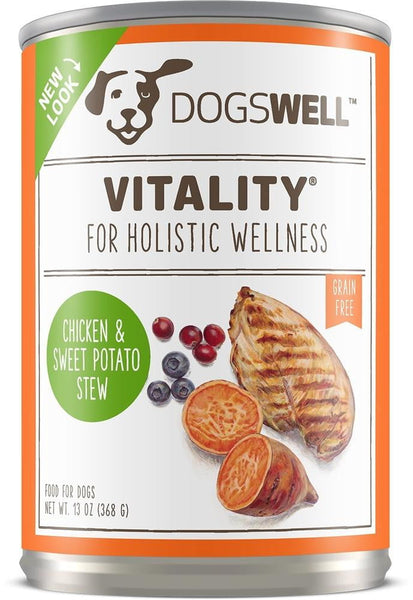Dogswell Vitality Chicken Sweet Potato 13 oz. (Case of 12).