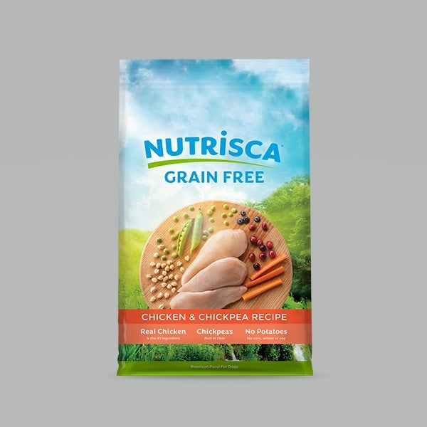 Nutrisca Chicken Chickpea 4lbs..