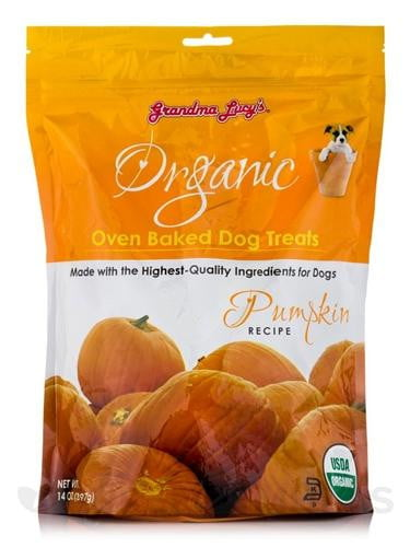 Grandma Lucys Dog Organic  Baked  Pumpkin  Treat  14 oz...