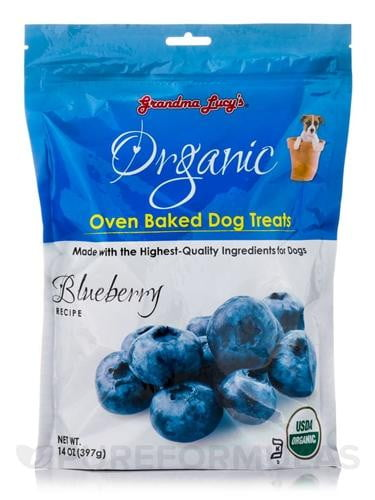 Grandma Lucys Dog Organic  Baked  Blueberry Treat  14 oz...