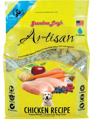 Grandma Lucys Dog  Artisian Grain Free Chicken Trial  (Case of 6).