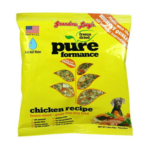 Grandma Lucys Dog  Pure Chicken Trial 1.5oz. (Case of 6).