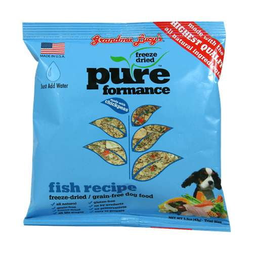 Grandma Lucys Dog  Pure  Fish Chickpea  Trial 1.5oz.  (Case of 6).