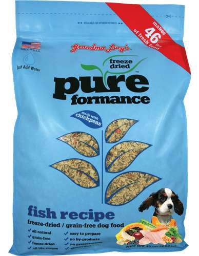 Grandma Lucys Dog  Pure Grain Free Fish  10 Lbs..