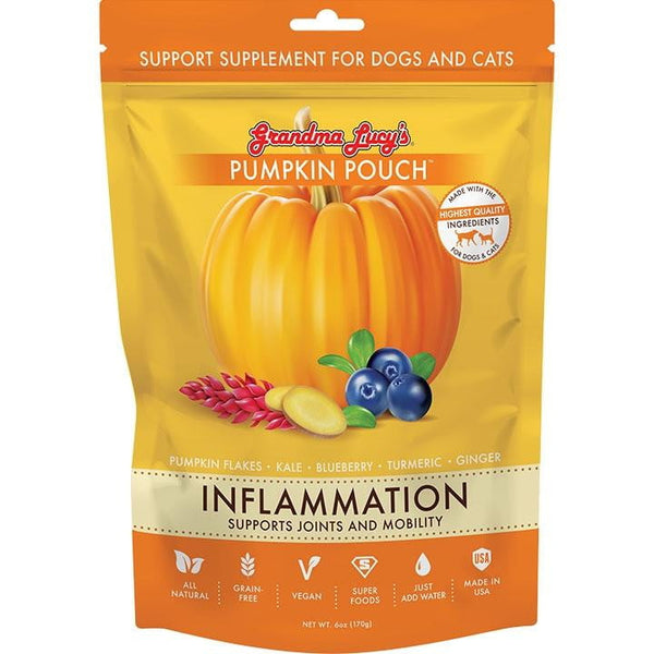 GRANDMA LUCY'S PUMPKIN POUCH INFLAMATION 6OZ.