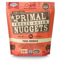 Primal Pet Foods  Freeze Dried Cat Food Pork 14 oz..