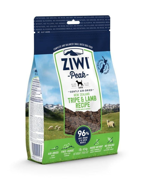 Ziwi Peak Dog Air-Dried Tripe & Lamb 5.5lbs.