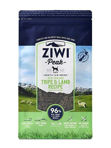 Ziwi Peak Dog Air-Dried Tripe & Lamb 2.2lbs.