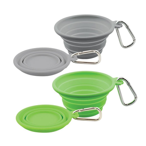 Silicone Collapsible Travel Bowl.